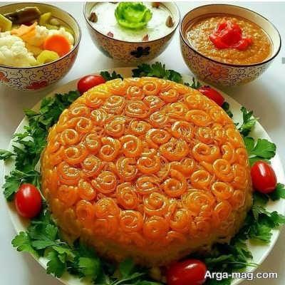 طرز تهیه ماکارونی قالبی خوشمزه و پرطرفدار با پنیر پیتزا